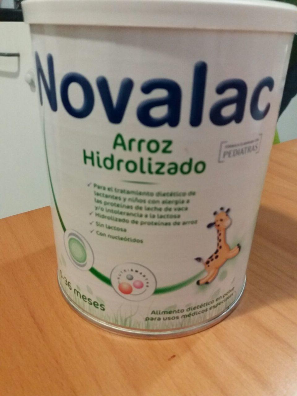 arròs hidrolitzat Novalac