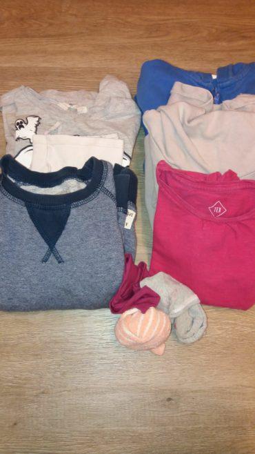 lot de roba de 3 i 4 anys