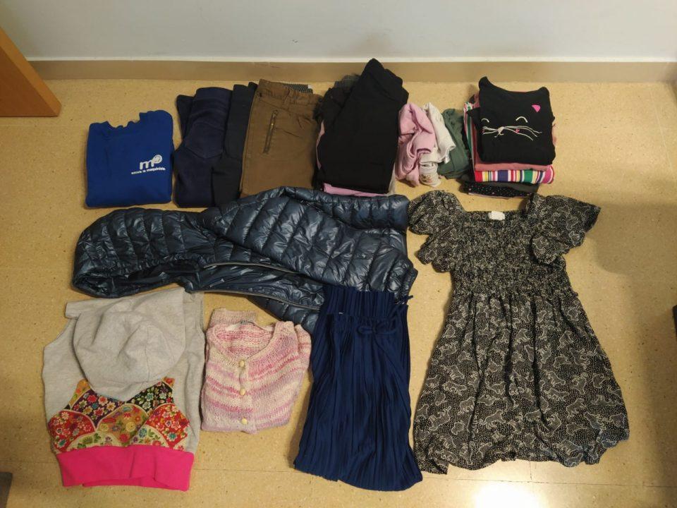 Pack de roba 7-8 anys