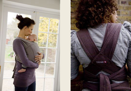 Fular close baby carrier o similiar