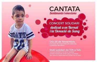 Jornada solidària dedicada a en Bernat i la donació de sang