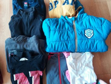 desuadora, jersei i anorac T10-12