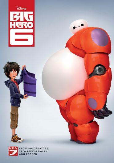 Aquest Divendres 31 CINEMANISTAT amb Big Hero 6 (16.50h)