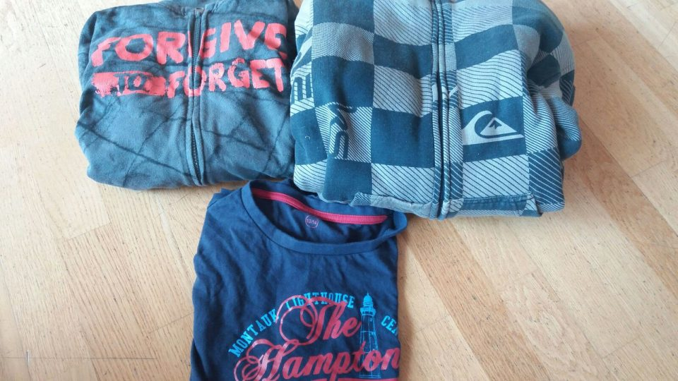 dos jerseis desuadora i samarreta T14