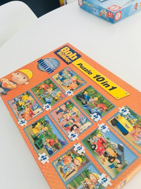 Puzzles bob the builder