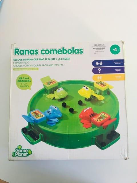 RANAS COMEBOLAS
