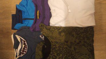 dessuadores i 2 samarretes talla 12