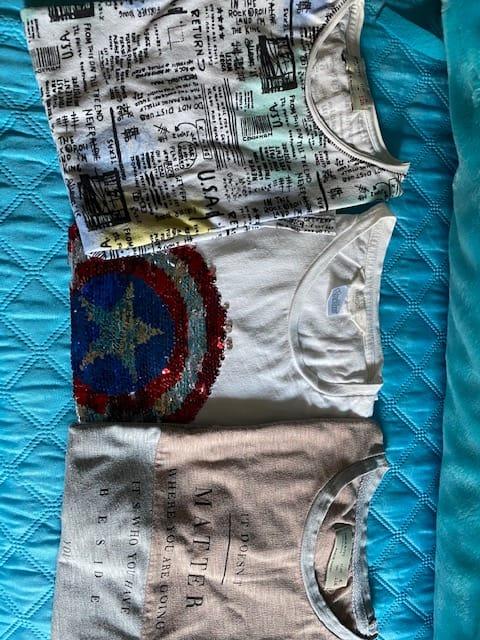Samarretes màniga curta T6