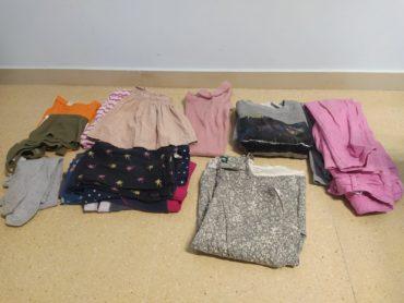 Pack de roba 5-6a.